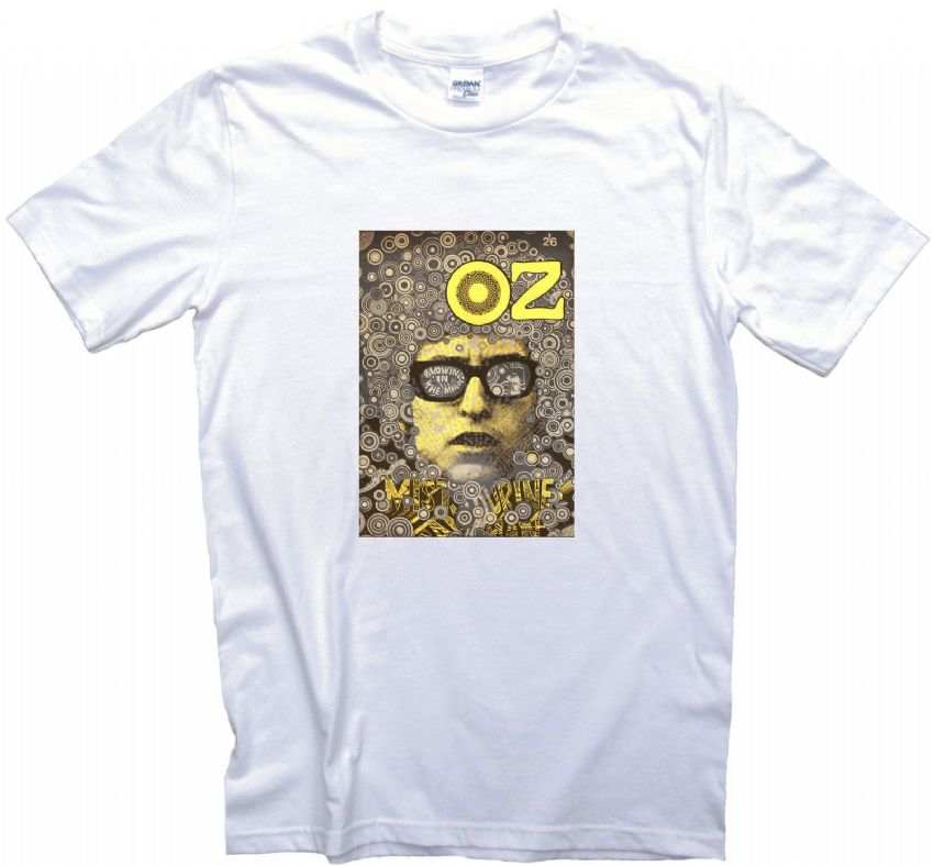 Oz (Magazine) No.7 Cover T Shirt. Undergound Art Culture T-Shirt. 13 Sizes